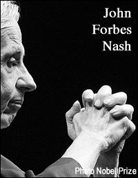 Imagen del Premio Nobel, John Forbes Nash