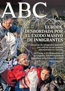 Gobiernos desbordados por la avalancha de emigrantes y refugiados