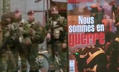 Imágenes de la guerra contra el terrorismo en Europa